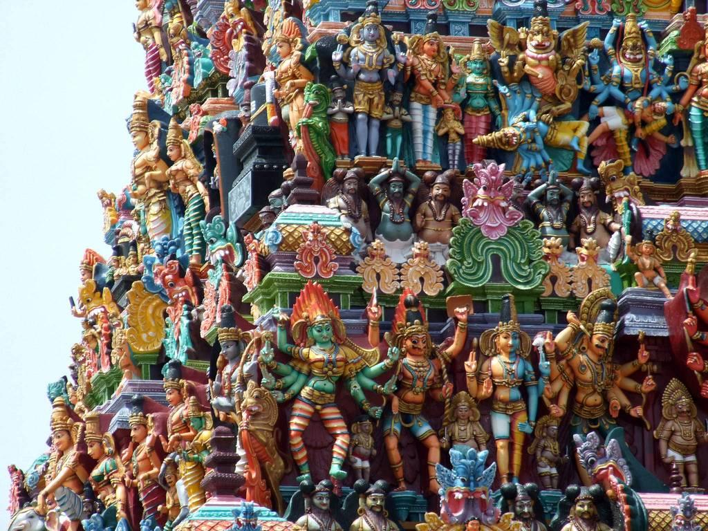 Najlepši hramovi na svetu - Page 2 Meenakshi+Amman+Temple+Tamil+Nadu+India+2