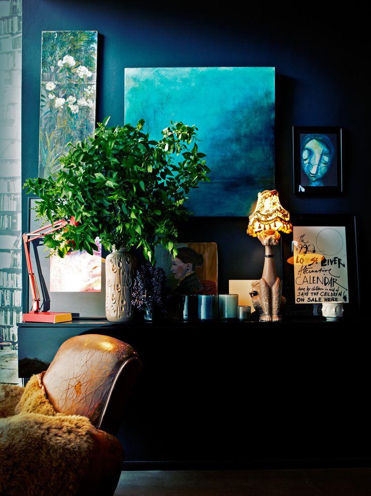 Delicious Interiors With Natural Materials And Gorgeous: La Maison Boheme: Delicious Dark Interiors