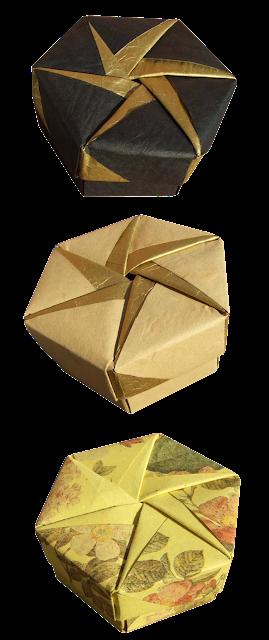 Tomoko Fuse Hexagon Box Instructions : Origami maniacs tomoko fuse´s hexagonal box by