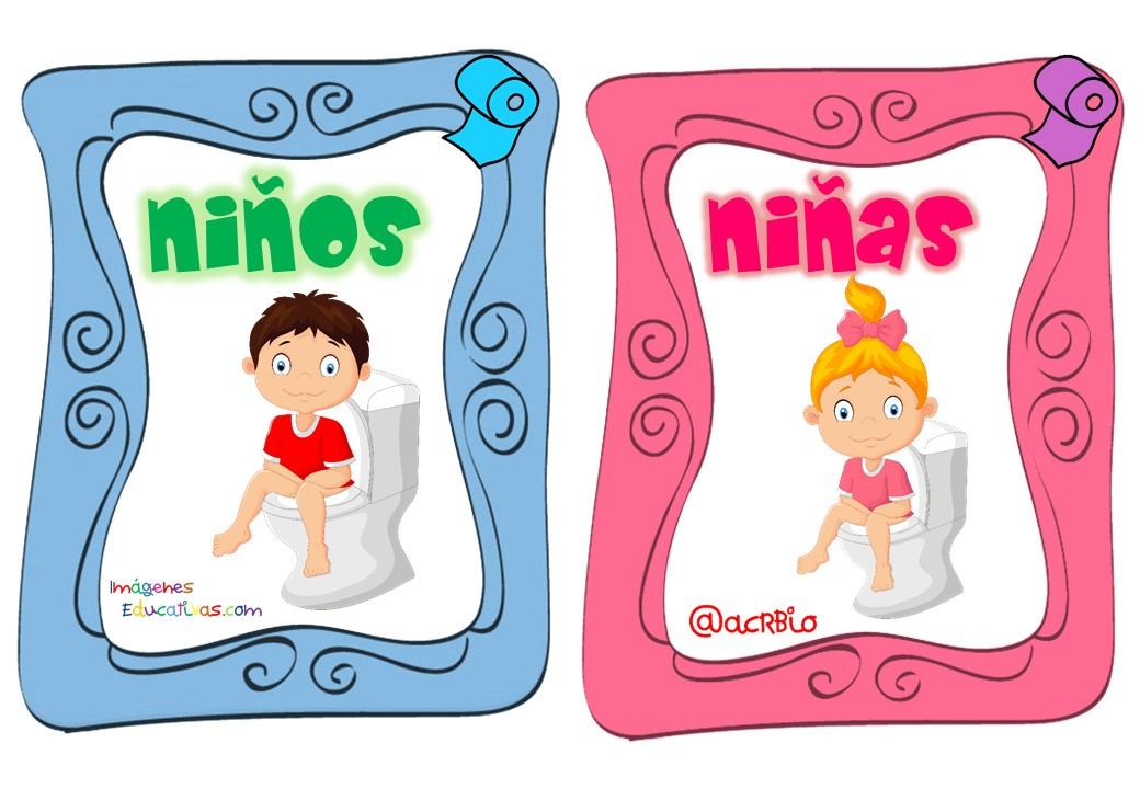 Para imprimir letreros para sanitarios for Sanitarios infantiles