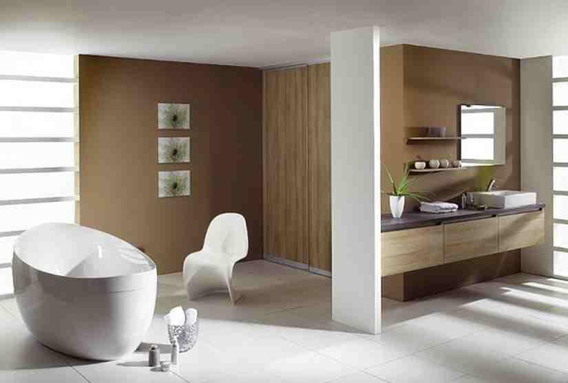 Minimalist Modern Bathrooms Design