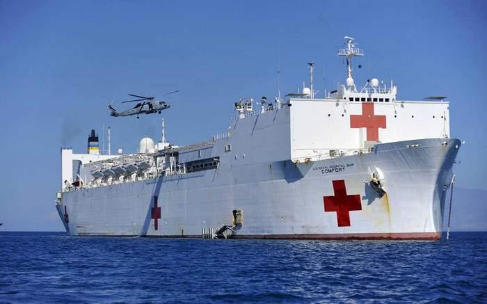 USNS Comfort, el buque hospital mas grande del mundo estuvo en Buenaventura prestando servicios de atención en salud a las personas más necesitadas.
