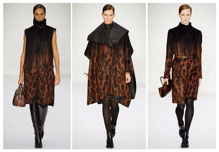 Tan leopard print coats and overcoat