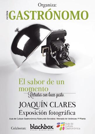 """""""El Sabor de un momento"""" de Joaquín Clares y Revista Gastrónomo"""
