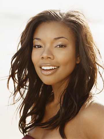 I was reading up on Gabrielle Union's hair. Apparently she is natural ...