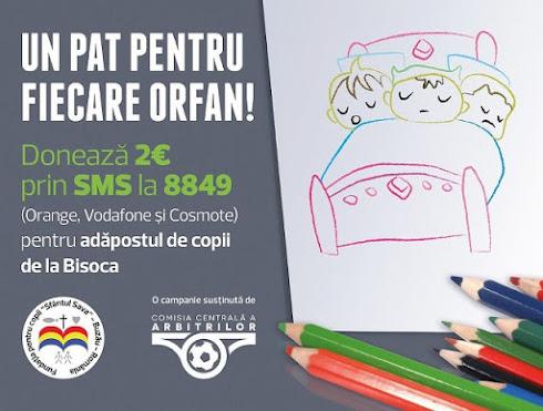 SĂ ÎI AJUTĂM PE COPIII ORFANI DIN BISOCA!