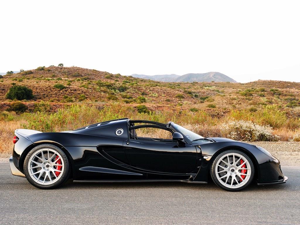 Hennessey Venom GT Spyder 2014 Photoshoot