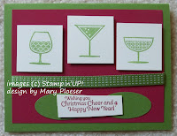 Card made with Stampin'UP! stamp set: Happy Hour
