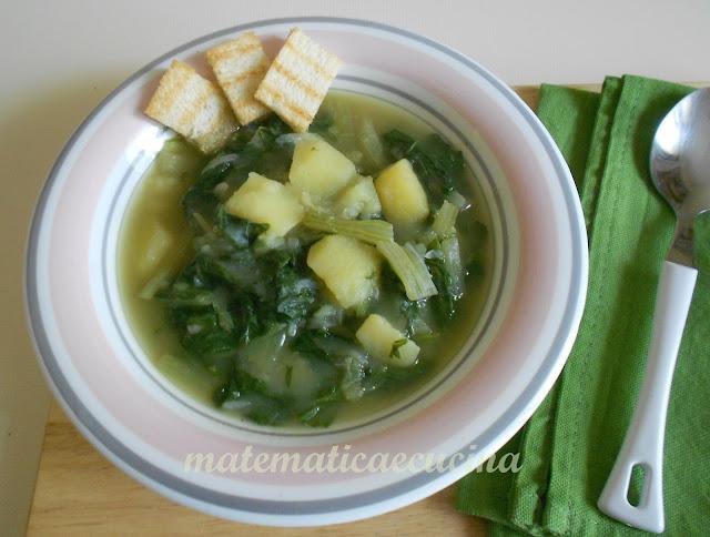zuppa di bietole e patate