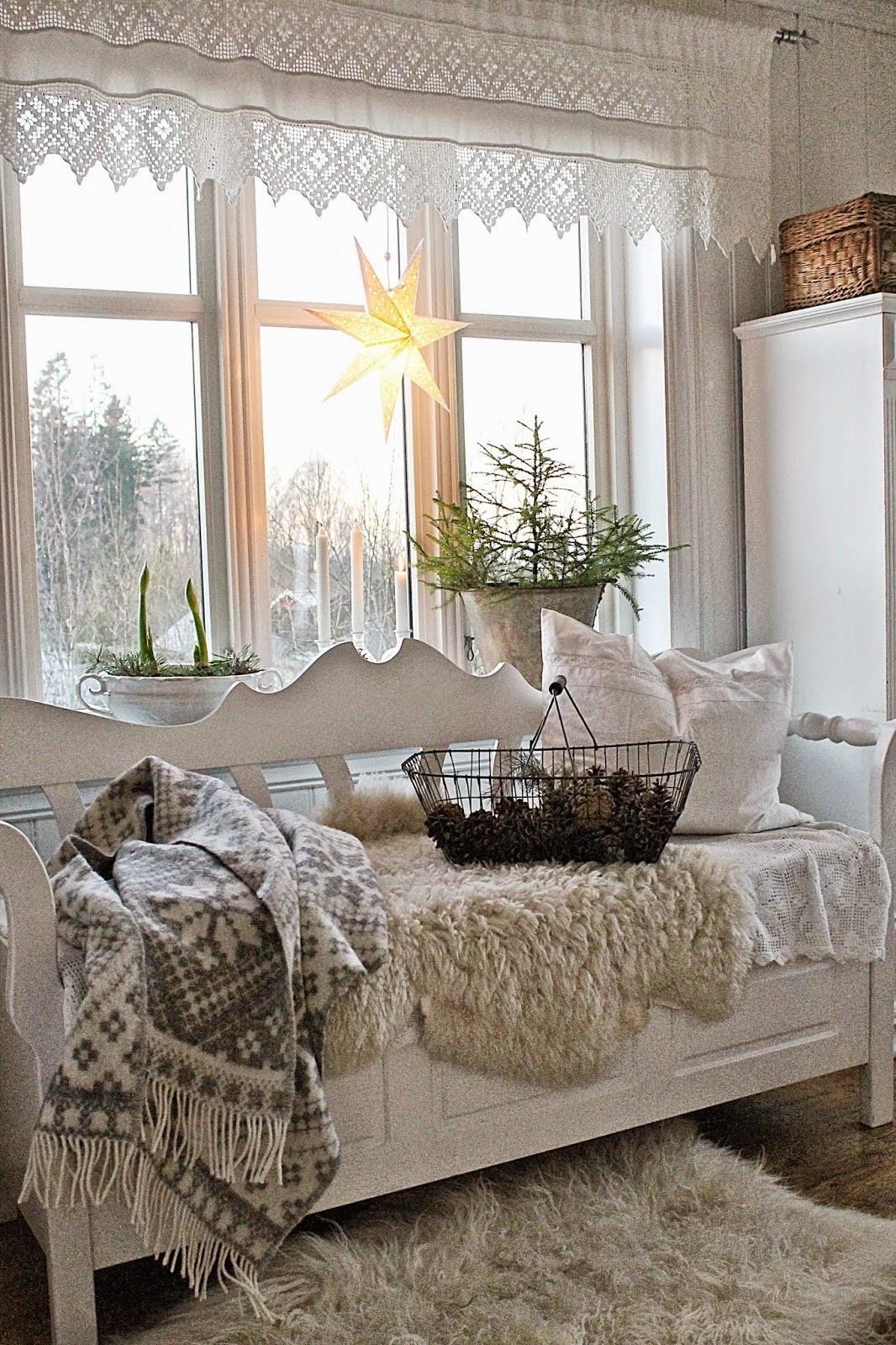 navidad shabby chic decoracion