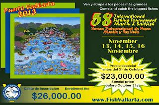 Torneo de Pesca en Puerto Vallarta