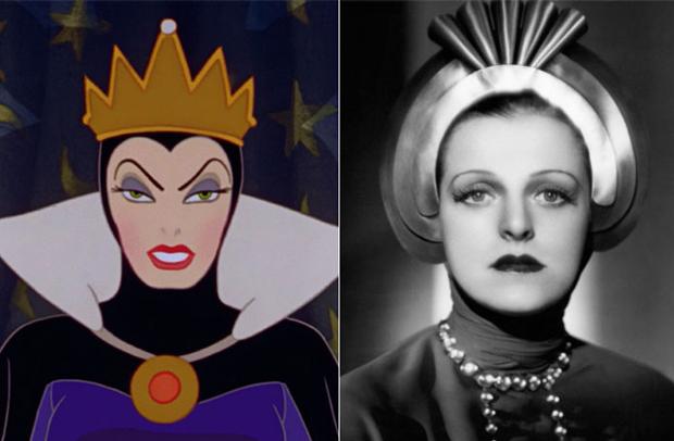 Os personagens da Disney na vida real - Rainha Má – Helen Gahagan