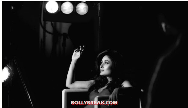 Kareena kapoor heroine still - Heroine - Kareena Kapoor black and white photo shoot