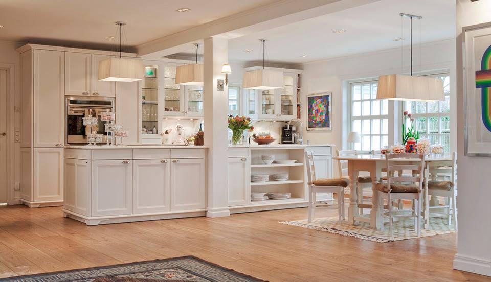 Cele mai frumoase interioare amenajate n alb i jurnal for Casas estilo americano interiores