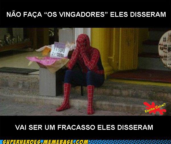 memebase, spider, avengers, eeeita coisa