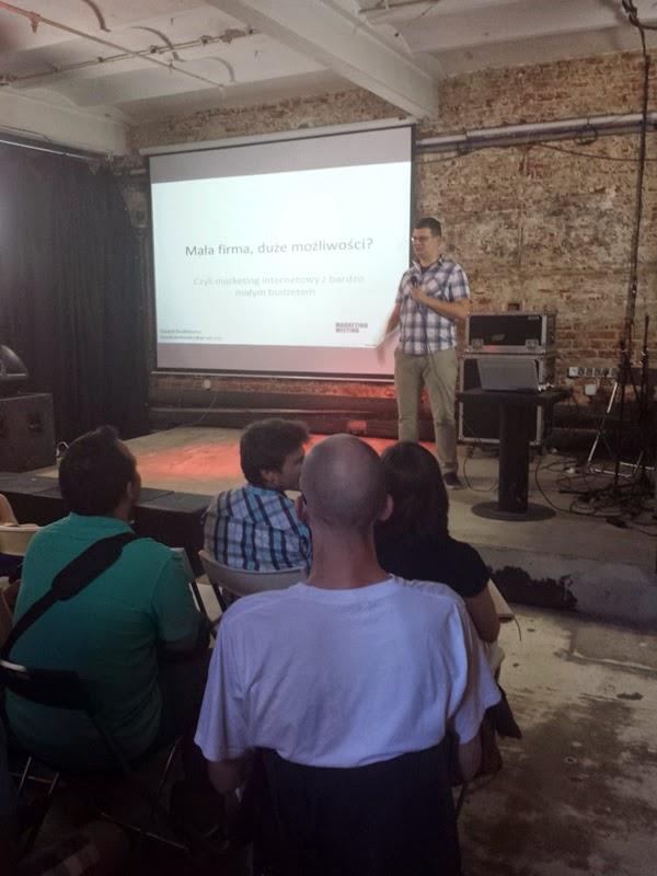 Marketing Meeting, Łódź, spotkanie, event, Dawid Dutkiewicz, Budex