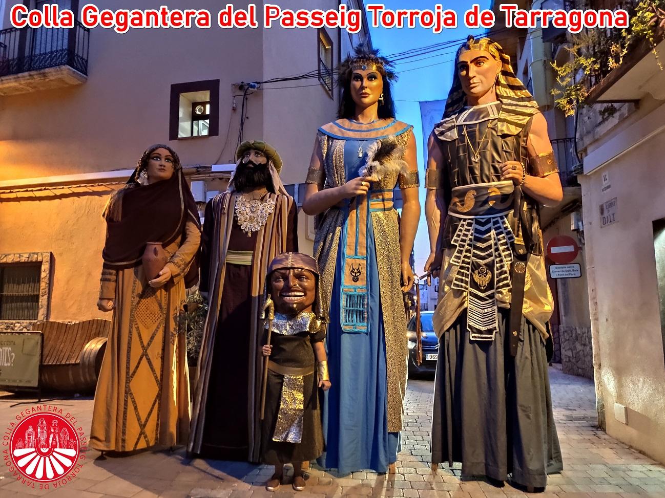 Colla Gegantera del Passeig Torroja de Tarragona