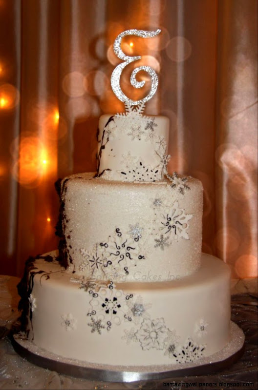 1000 images about wedding cakes on Pinterest  Winter wedding