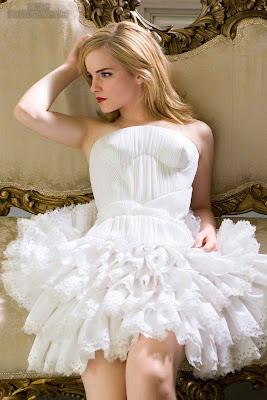 Emma Watson Sexy Dress