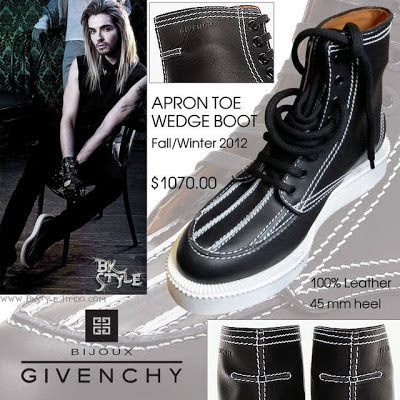 las-zapatillas-Bill-Givenchy-kaulitz- tokio hotel- official-humanoid-fanclub- colombia
