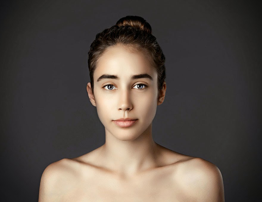 UKRAINE - Woman Had Her Face Photoshopped In More Than 25 Countries To Compare Their Beauty Standards