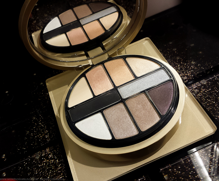 Giorgio Armani Luxe Is More Palette Holiday 2015 Swatches Eyeshadows