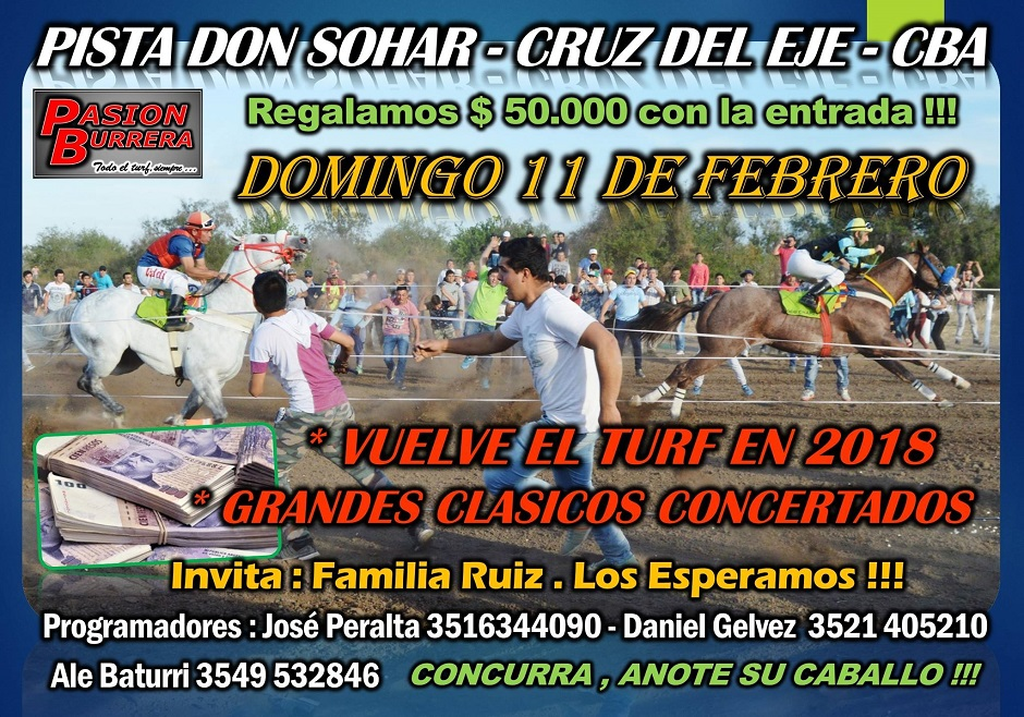 DON SOHAR - DOMINGO 11 FEBRERO 2018