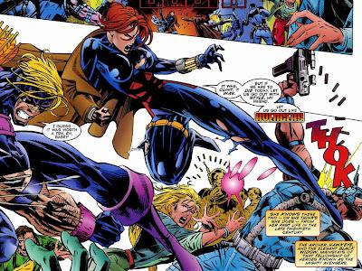 Avengers Crossing Black Widow