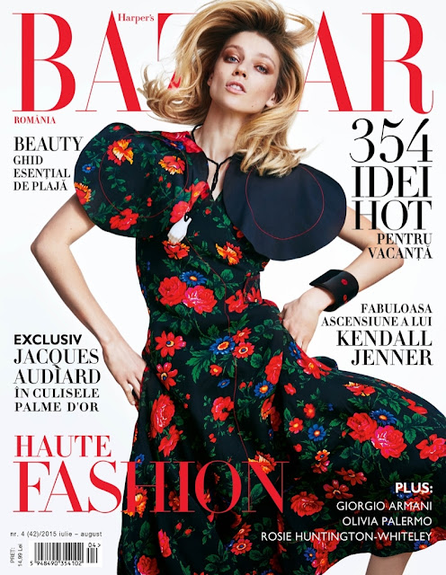 Fashion Model @ Masha Novoselova for Harper's Bazaar Romania, July 2015