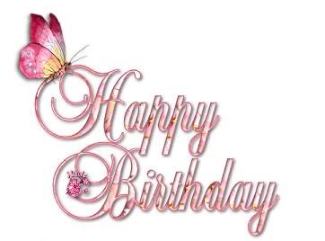 Happy Birthday mariposa
