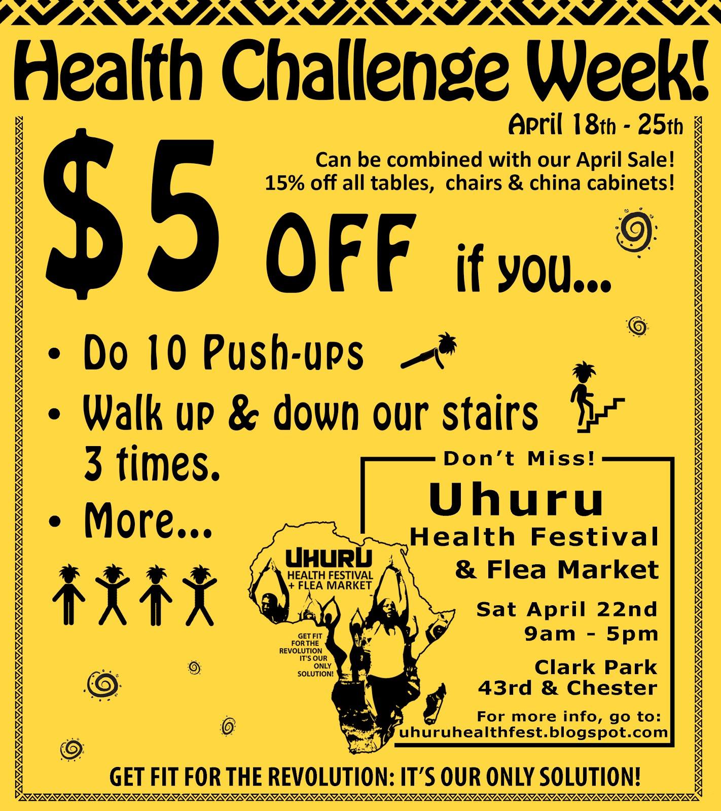 Health Challenge Week!