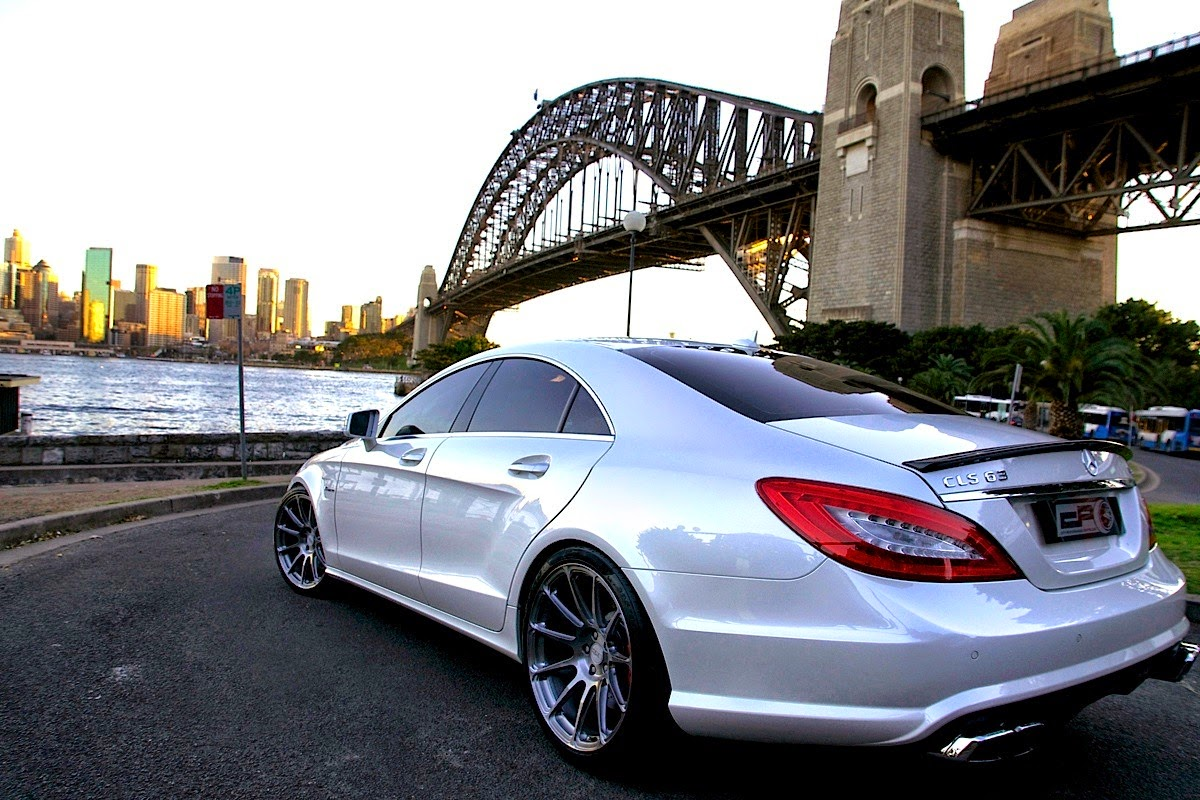 Mercedes benz c218 cls63 amg on hre performance wheels for Mercedes benz wheels rims