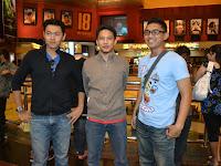 Gua Bersama 2 kartunis Blogger