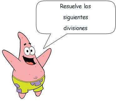 division ecuaciones: