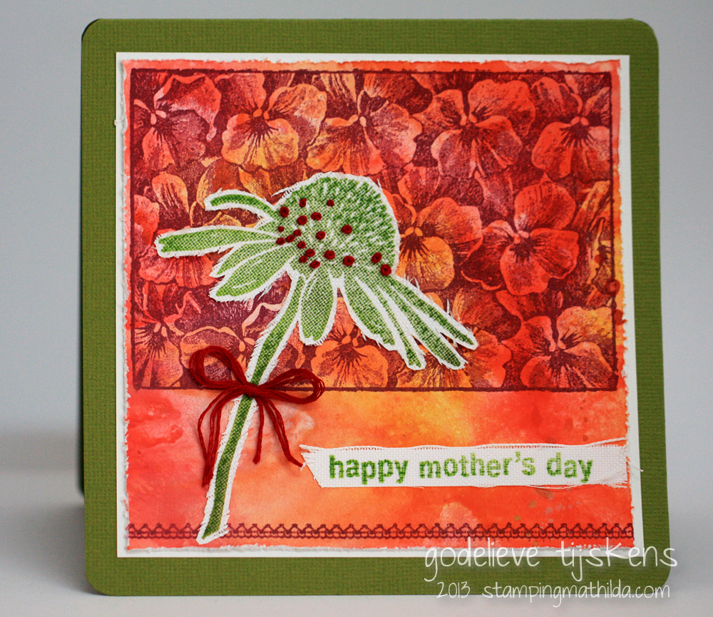 Stampingmathilda mother s day card