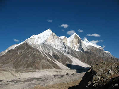 Bhagirathi peaks Gaumukh, trek from Gangotri