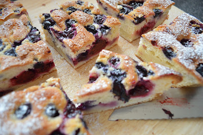 Berry apple Pudding