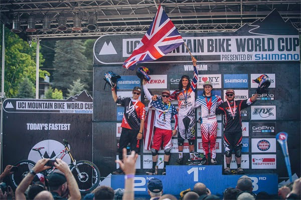 2014 Windham UCI World Cup Downhill: Highlights Video Josh Ratboy Bryceland