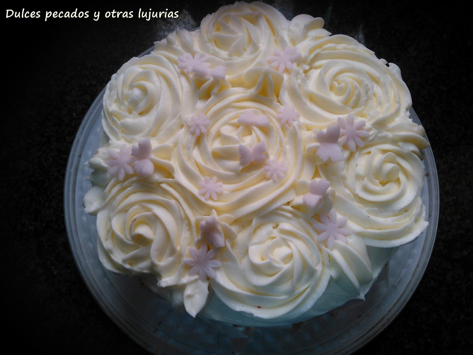 Dulces pecados y otras lujurias tarta red velvet por - Tarta red velvet alma obregon ...