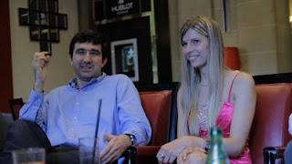 Echecs : Kramnik en compagnie d'Anémone Kulczak, arbitre à Dieppe
