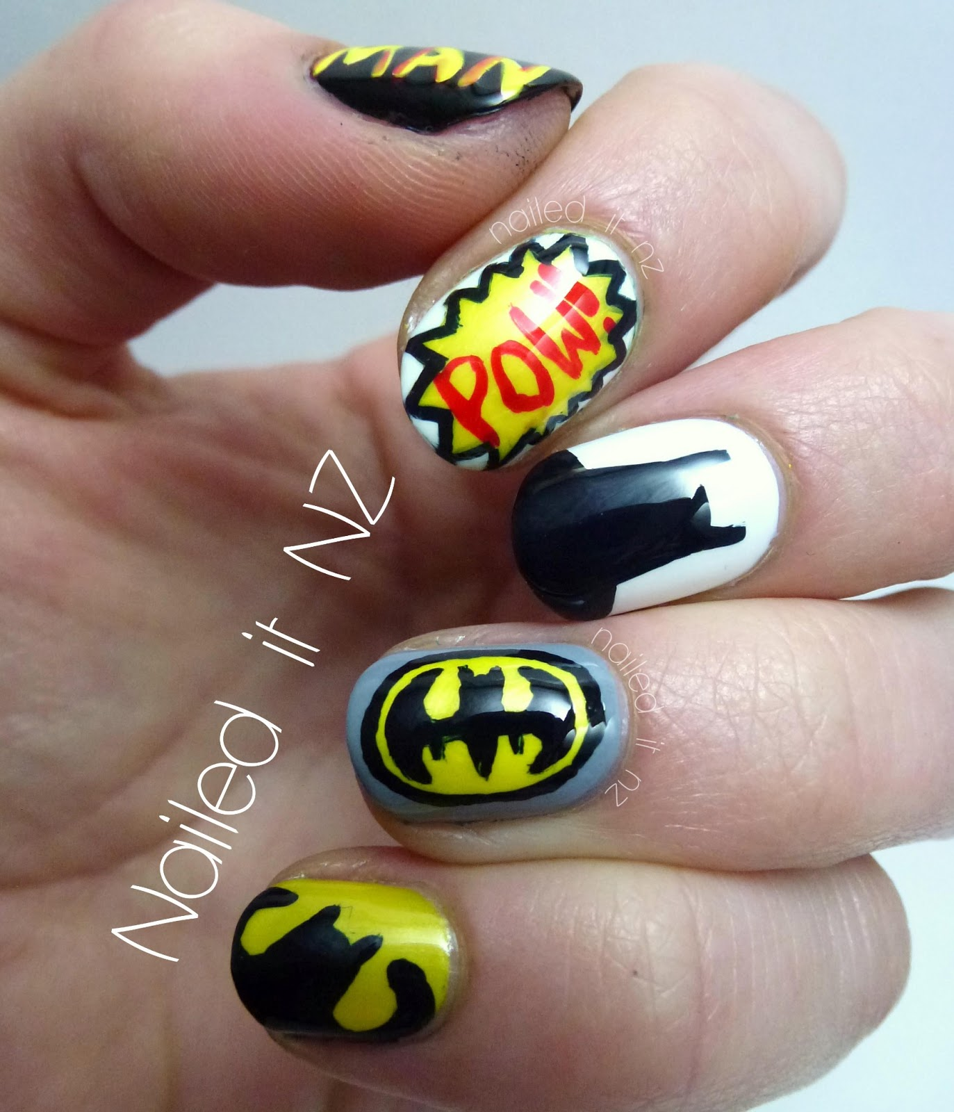 Batman nails prinsesfo Gallery