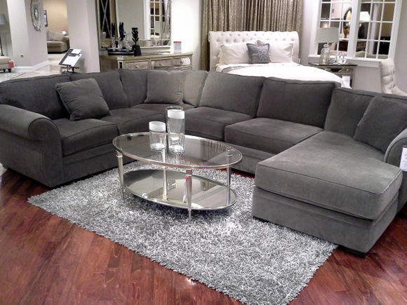 Heavenly Mocha Sectional Couch Macy