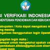 Aplikasi Verifikasi Indonesia Pintar Kemdikbud