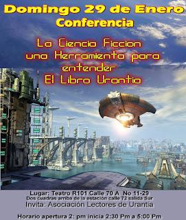 Afiche Conferencia Libro de Urantia