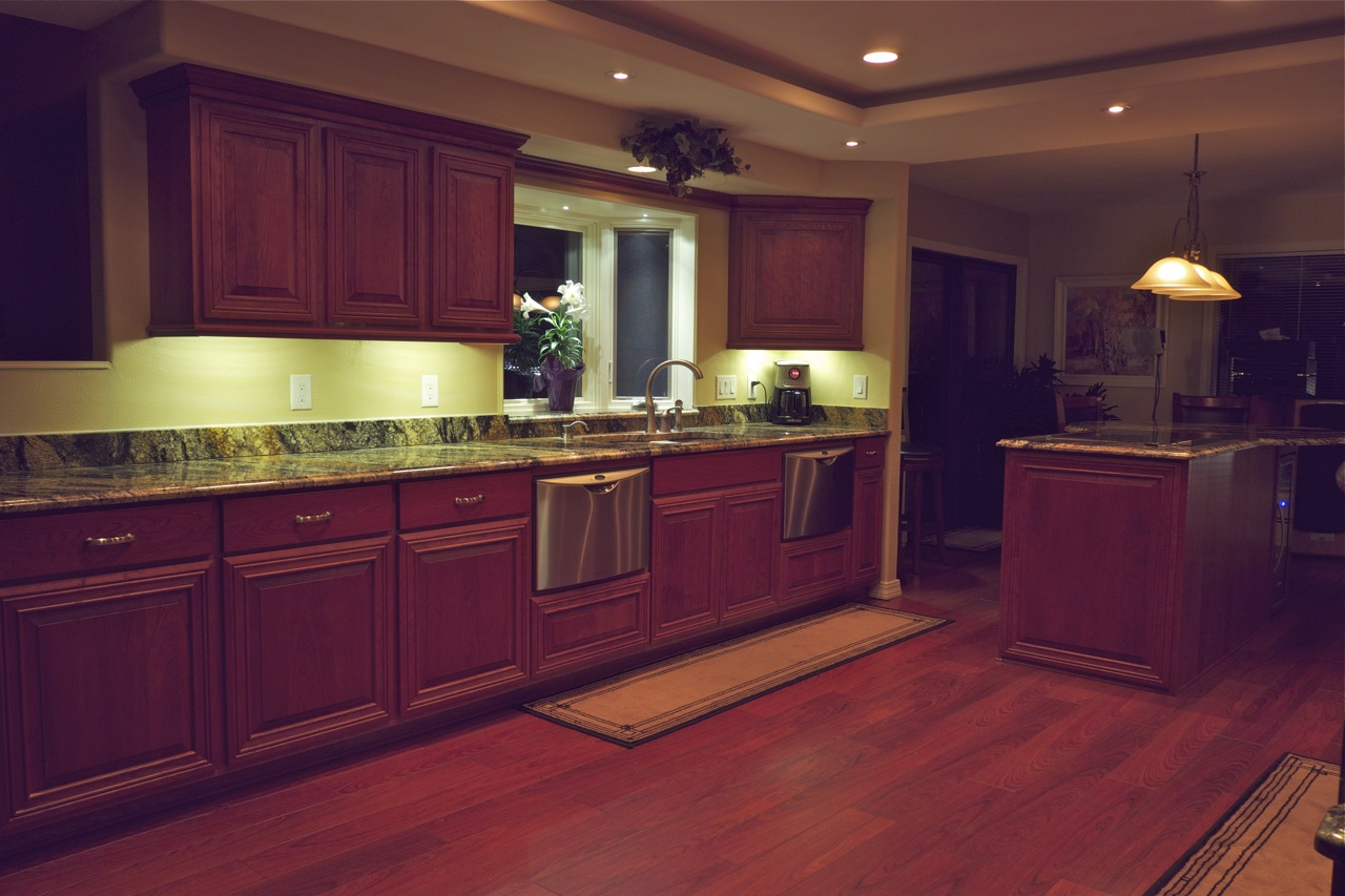 Led under counter light strips - Led Kitchen Under Cabinet Lighting Under Kitchen Led Cabinet