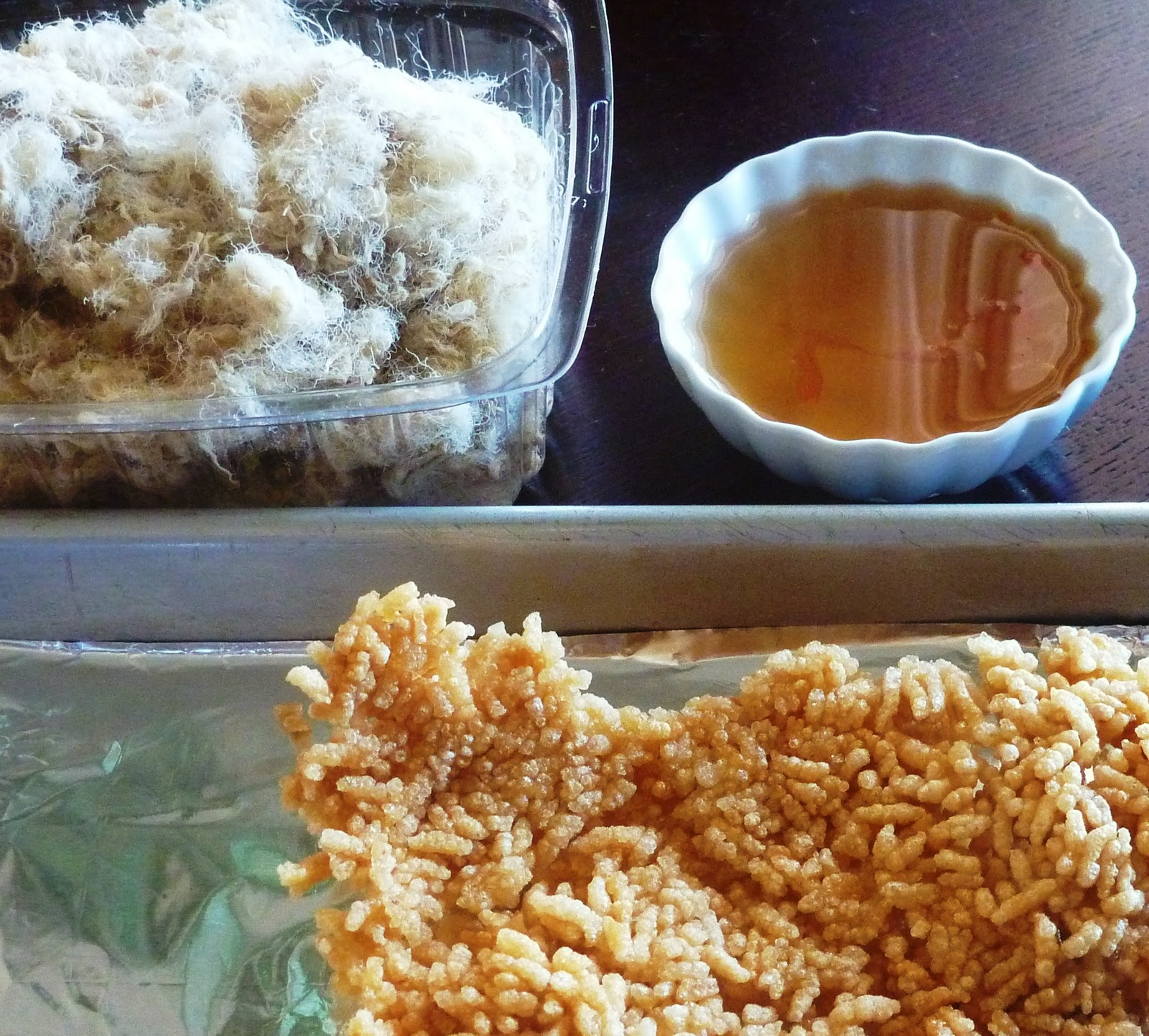 The spices of life c m ch y chi n gi n crispy rice for Fish sauce ingredients