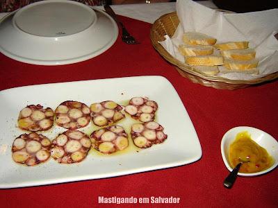 Di Lucca Ristorante Italiano: Salame de Polvo (porção reduzida)