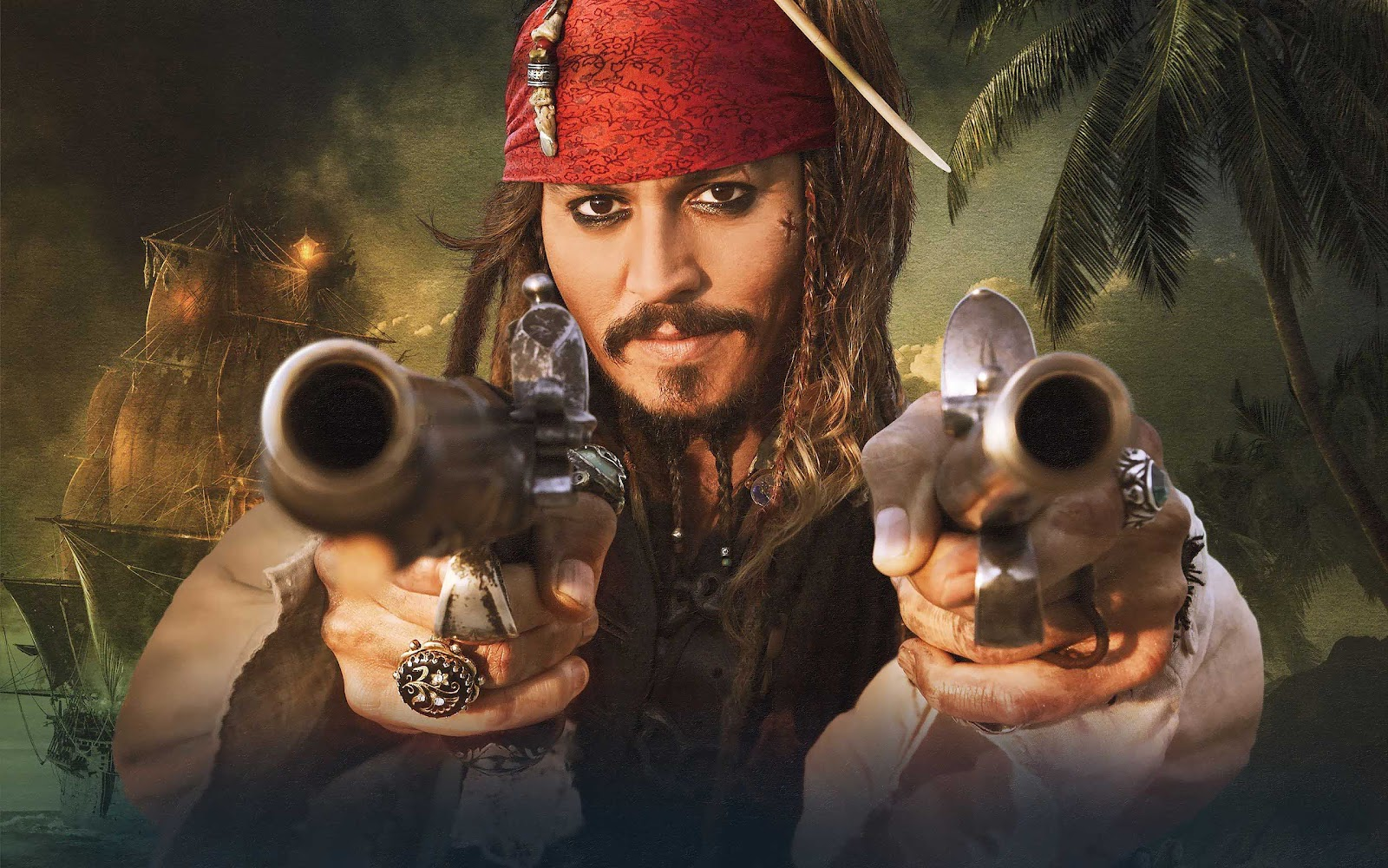99walls johnny depp in pirates of the caribbean wallpapers - Pirates of the caribbean images hd ...