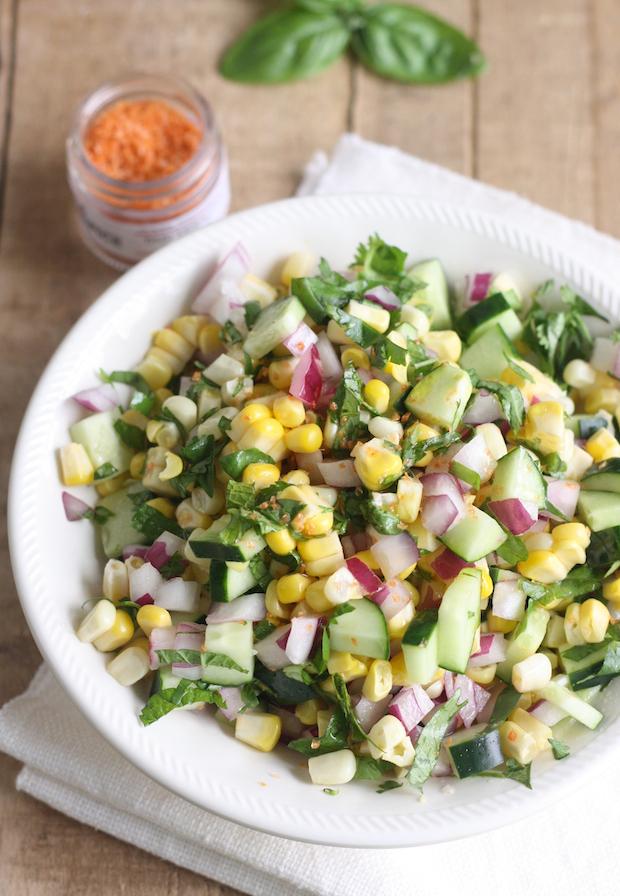 Thai Corn Salad by SeasonWithSpice.com