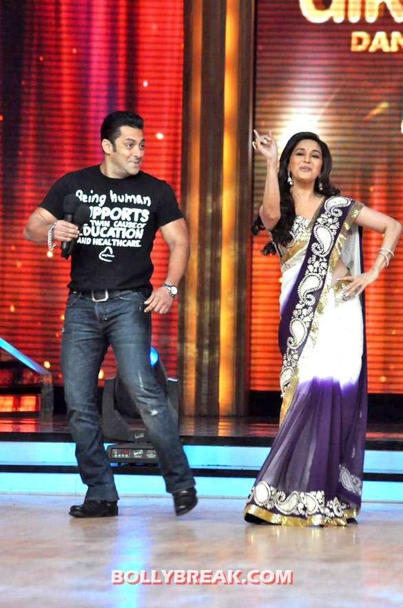 Salman Khan, Madhuri Dixit - (13) - Salman & Katrina on the sets of 'Jhalak Dikhhla Jaa 5'